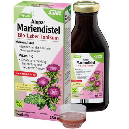 Salus Alepa Mariendistel Bio-Leber-Tonikum