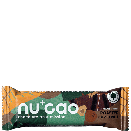 nu cao chocolate Bar roasted Hazelnut