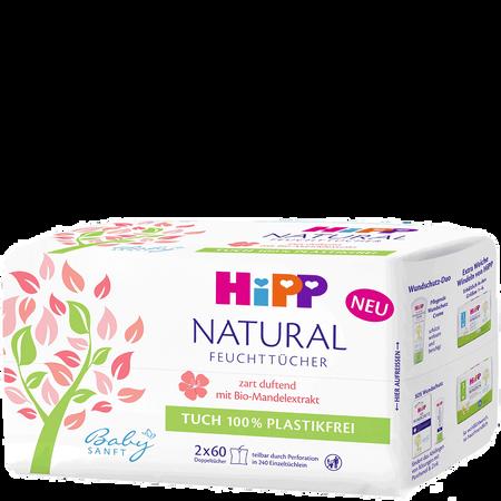 HiPP Babysanft Ft Natural 2X60
