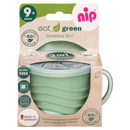 Nip Snackbox 2in1 Green