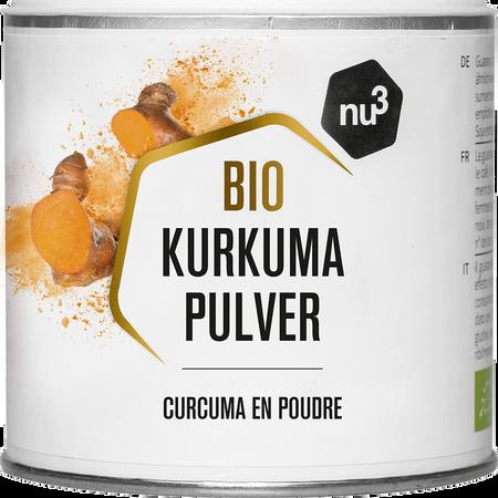 NU3 Bio Kurkuma Pulver