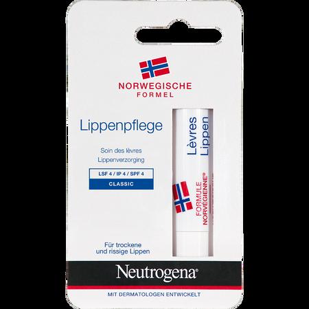 Neutrogena Lippenpflege Classic LSF 4