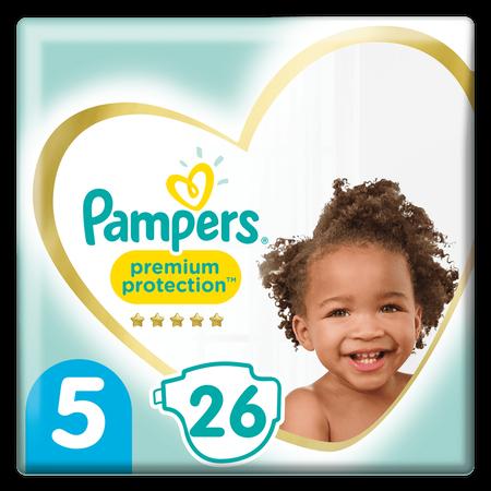 Pampers Premium Protection Größe 5, 26   Windeln