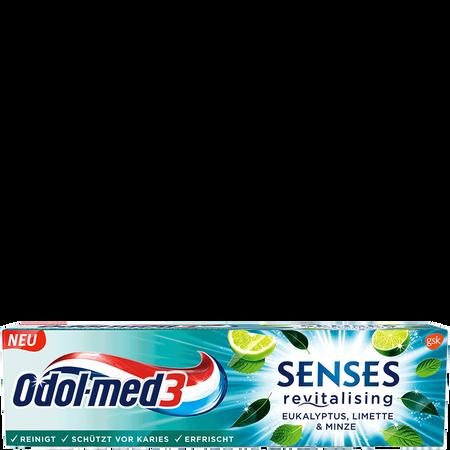 Odol-med3 Senses Eukalyptus Zahncreme