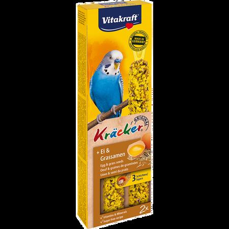 Vitakraft Kräcker Ei & Grassamen Sittich
