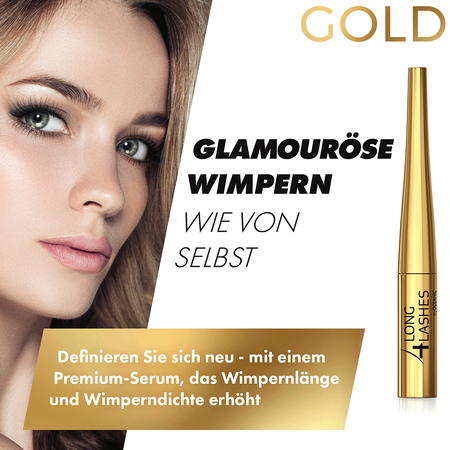 Long4Lashes Wimpernserum Gold