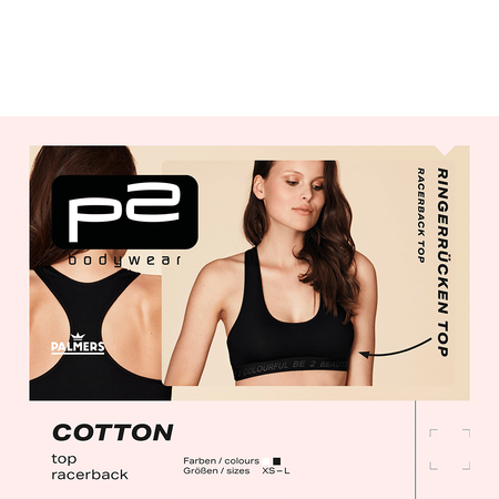p2 Cotton Top Racerback