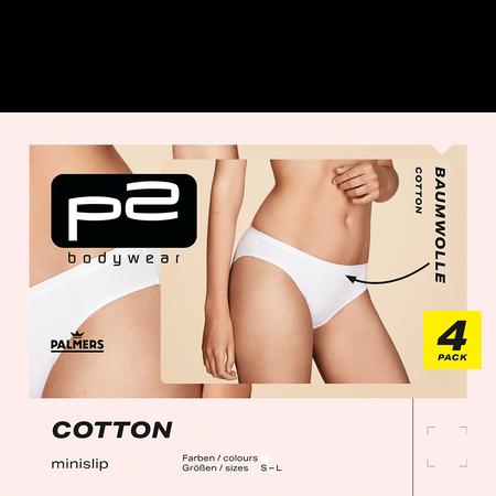 p2 Cotton Minislip