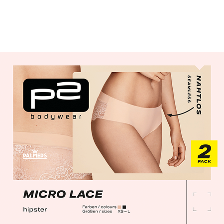p2 Micro Lace Hipster