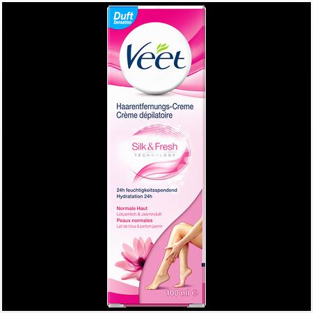 Veet Silk & Fresh Haarentfernungs-Creme normale Haut