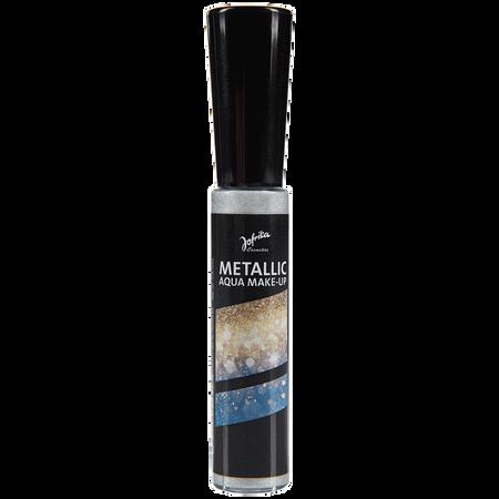 Jofrika Metallic Aqua Make-Up Silber