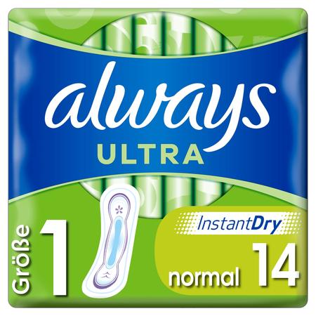 always ALWAYS ULTRA BINDE NORMAL 14