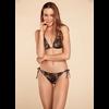 Bild: p2 Triangel Bikini Print braun