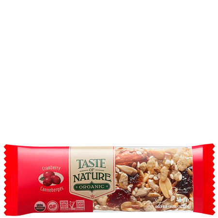 Taste of Nature Riegel Cranberry