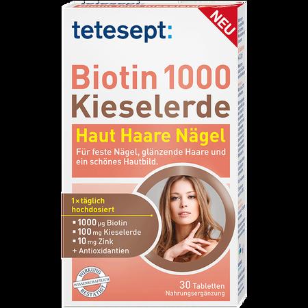 tetesept: Biotin 1000 Kieselerde