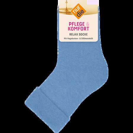 nur die Damen Pflege & Komfort Relax Socken