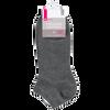 Bild: BI STYLED Sneaker Socken Baumwolle mittelgrau
