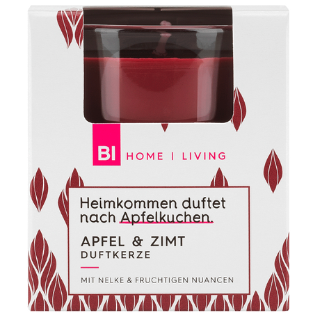 BI HOME Living Duftkerze Apfel & Zimt