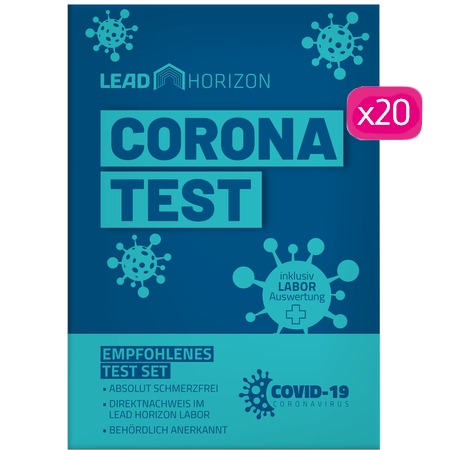 Lead Horizon Corona Selbsttest Set Großpackung