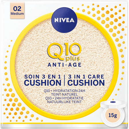 NIVEA Q10 Anti-Age 3 in 1 Care Cushion Medium