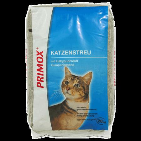 Primox Katzenstreu Ultra mit Babypuderduft