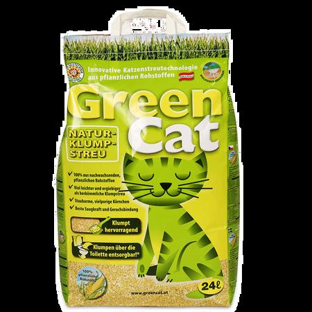 Green Cat Nature Katzen Klumpstreu