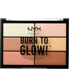Bild: NYX Professional Make-up Born To Glow Highlighter Palette