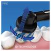 Bild: Oral-B Pro2 2000 Black Edition Elektrische   Zahnbürste, mit visueller Andruckkontrolle für extra Zahnfleischschutz,   schwarz