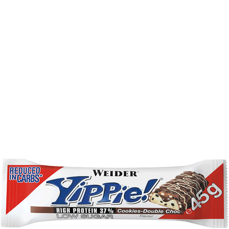 WEIDER Yippie Bar Cookies Double Choc