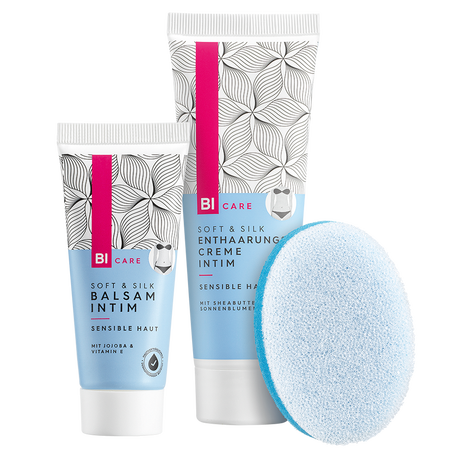 BI CARE Soft & Silk Enthaarungscreme Intim