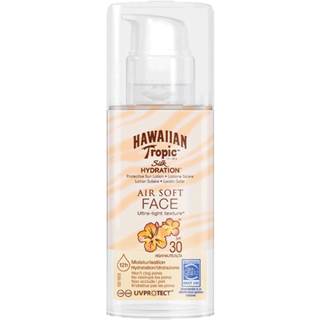 Hawaiian Tropic Silk Hydration Air Soft Face Sonnencreme LSF 30
