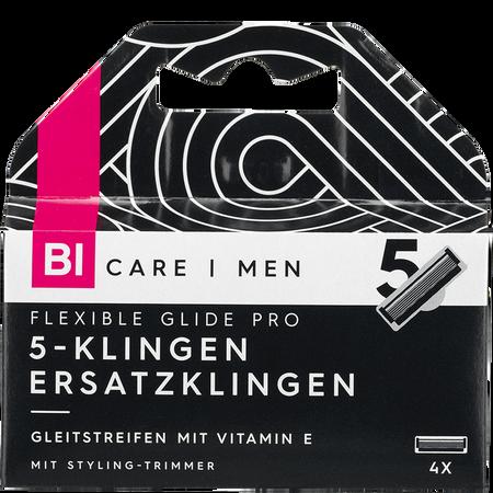 BI CARE MEN  5 -Klingen Ersatzklingen Flexible Glide Pro
