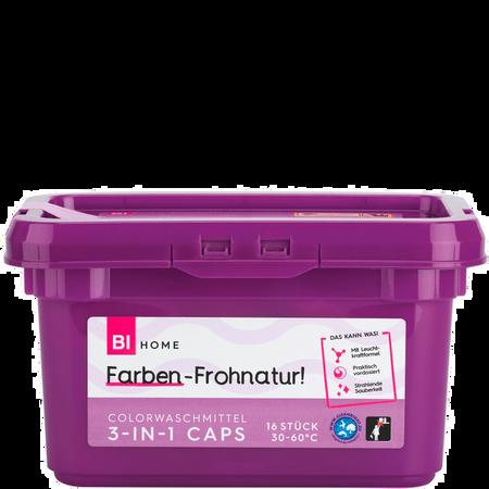 BI HOME 3in1 Color Caps Waschmittel