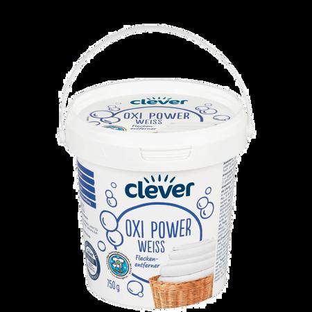 clever Fleckenenfterner Oxi Power Weiß Pulver