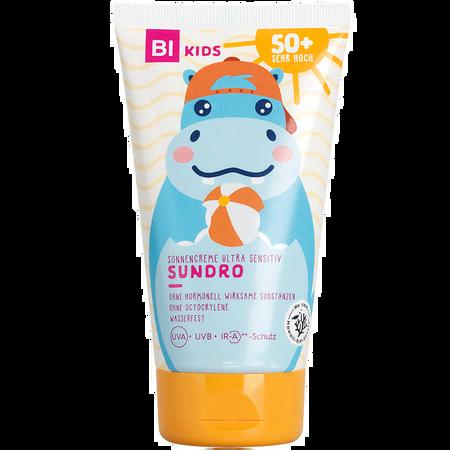 BI KIDS Kinder Sonnencreme Ultra Sensitiv Sundro LSF 50+