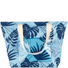 Bild: LOOK BY BIPA Strandtasche Blätter blau