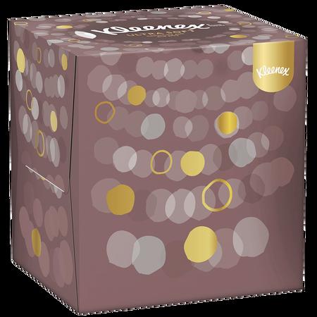 Kleenex Kosmetiktücher Ultra Soft Würfelbox
