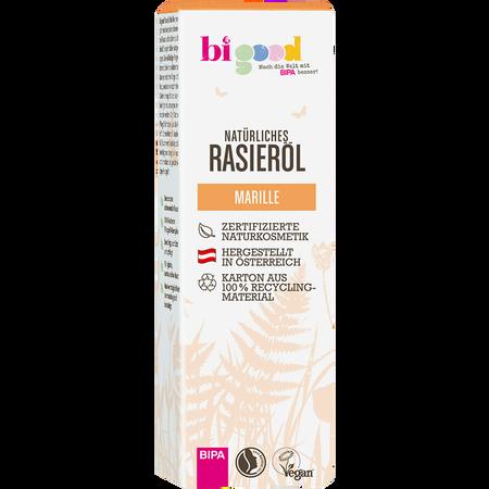 bi good Natürliches Rasieröl Marille