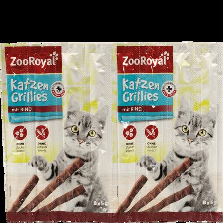 ZooRoyal Katzen Grillies mit Rind