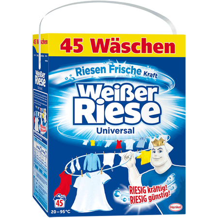 Weißer Riese Waschpulver Riesenfrisch Pulver