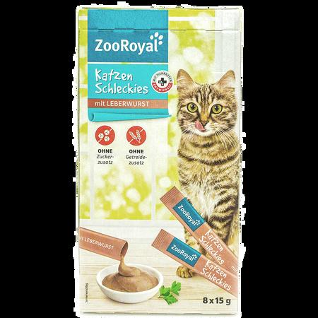 ZooRoyal Katzen Schleckies mit Leberwurst