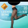 Bild: nur die Strumpfhose Leichte Beine 20 DEN schwarz