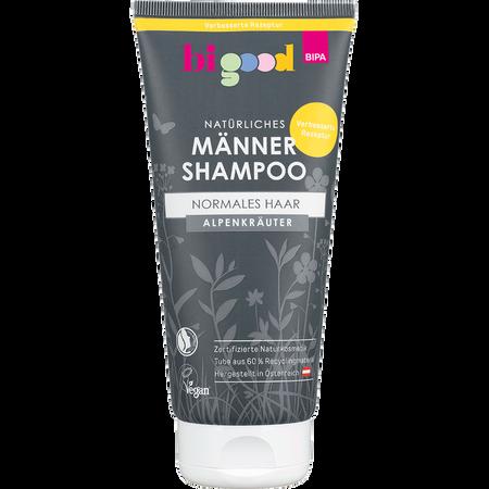 bi good Natürliches Männer Shampoo Alpenkräuter