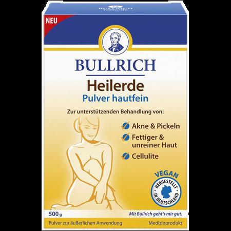 Bullrich Heilerde Pulver hautfein