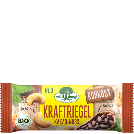 Willi Dungl Kraftriegel Kakao-Nuss
