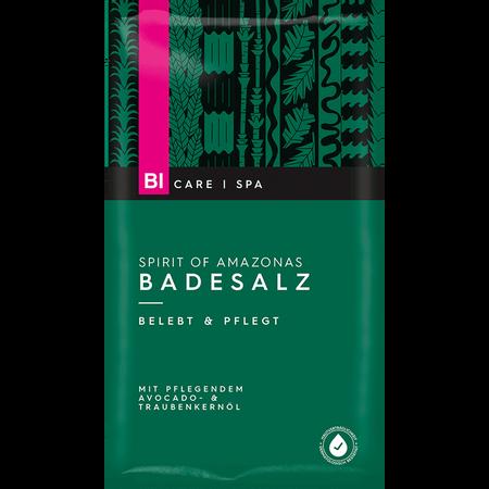 BI CARE Spirit of Amazonas Badesalz Avocado- & Traubenkernöl