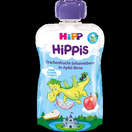 HiPP Hippis Drachenfrucht-Johannisbeere in Apfel- Birne