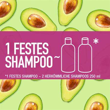 Bild: Nature Box Festes Shampoo mit Avocado Öl  Nature Box Festes Shampoo mit Avocado Öl