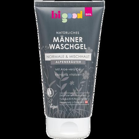 bi good Männer Waschgel Alpenkräuter