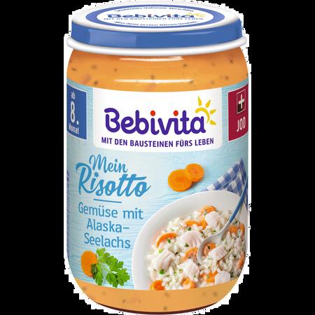 Bebivita Menü Risotto mit Gemüse und Lachs